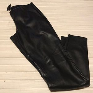 The Limited faux leather motor pants